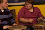 Verjaardagsfeest voor jongelui met verstandelijke handicap
