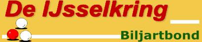 Biljartbond De IJsselkring logo