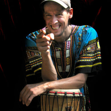 Coen van Vollenhoven - muzikant, percussionist bij Ritme op Maat