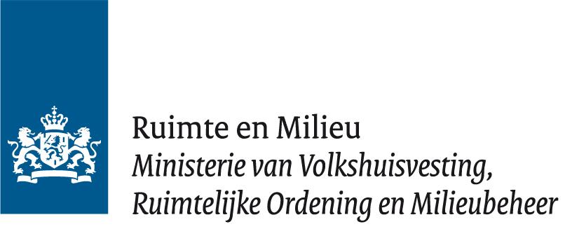 Ministerie van Ruimte en Milieu VROM logo
