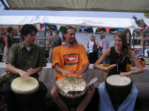 Afrikaans Trommelen leren in 10 minuten: De Trommelkraam op de Creavaria in Barneveld