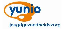 Yunio jeugdgezondheidszorg logo