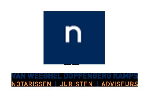 van weeghel doppenberg kamps notarissen logo
